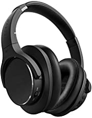 TECEVO Z4 ANC Active Noise Cancelling Bluetooth Headphones Wireless Gaming Headset With Microphone Hi-Fi Deep Bass Wireless Headphones Over Ear, Comfortable Earpads, 20 hours Playtime