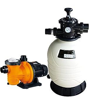 PISCINEO Groupe De Filtration Piscine : Pompe Kalia + Filtre MFV20 10 M3/h