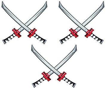Henbrandt - Espada Ninja Hinchable (6 Unidades, 74 cm ...