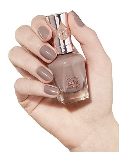 Sally Hansen Color Therapy Nail Polish, Nail Color, Blushed Petal 0.5 fl ounces