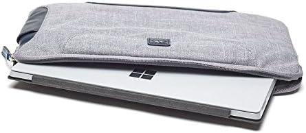 robust und sto/ßfest Cloud langlebig Brenthaven Collins Sleeve Plus mit speziellen F/ächern f/ür Microsoft Surface Pro 4 f/ür kommerzielle gesch/äftliche und b/ürokratische Essentials