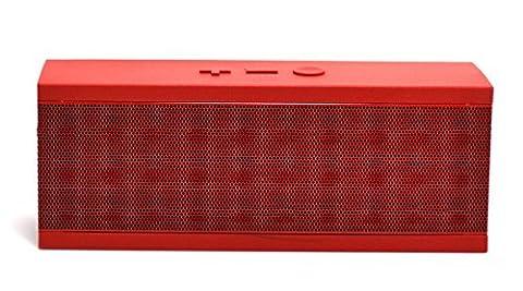 Jawbone JAMBOX Wireless Bluetooth Speaker - Red Dot (Certified Refurbished) (Jawbone Jambox Speaker Red Dot)