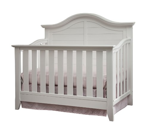 Thomasville Kids Southern Dunes Lifestyle 4-in-1 Convertible Crib , White