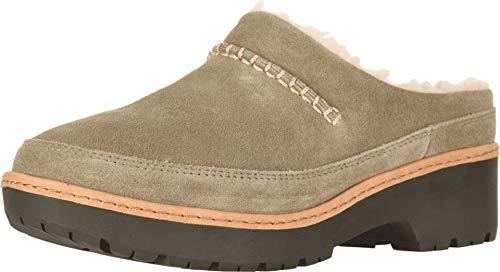 UGG Women's W Lynwood Clog Sneaker, Antilope, 6.5 M US