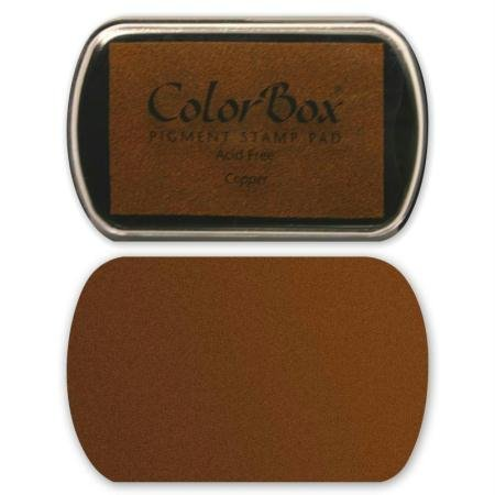 Clearsnap - ColorBox Metallic Pigment Inkpad - - Colorbox Metallic Pad Stamp