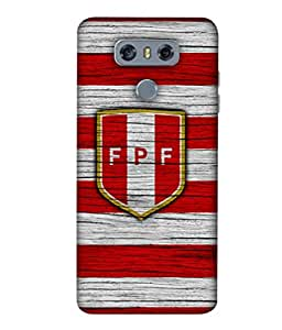 ColorKing Football Peru 10 Multicolor shell case cover for LG G6