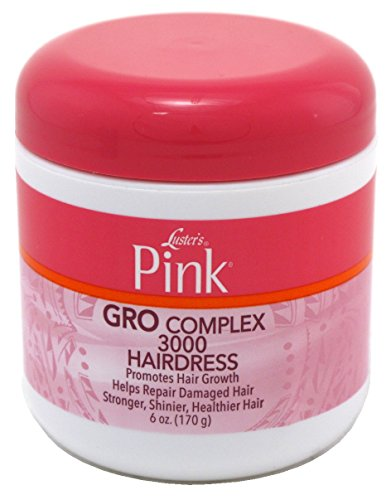 Lusters Pink Creme Hairdress Grocomplex 3000 6 Ounce (177ml) (3 Pack) (Cream Luster)