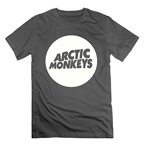 (Richard Lyons Mens Arctic Monkey Cool T-Shirts DeepHeather XL)