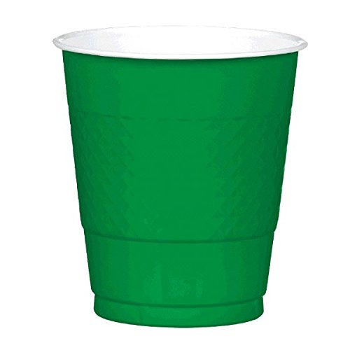 Amscan International 355ml Cup Plastic (festive Green)