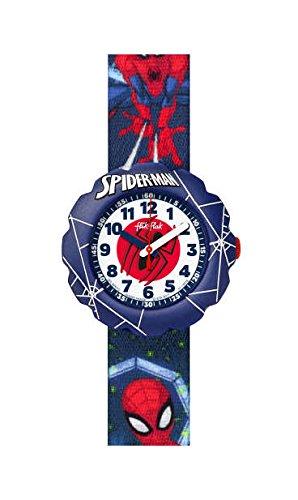 montre flic flac spiderman