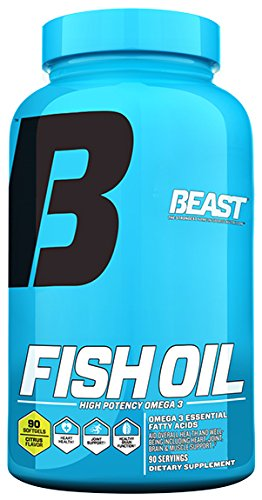 Beast sports nutrition cla 1250 lose fat and for Fish oil weight gain