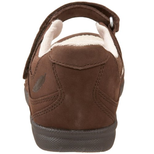 Delite Shoe Brown Flat Drew Women's Bone x6Tqpwf