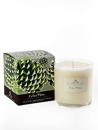 (Soap and Paper Factory Roland Pine Candle, 9.5 oz)