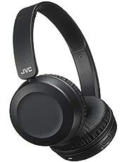 JVC HA-S31BT Foldable On Ear Bluetooth headphones with Remote & microphone, Black