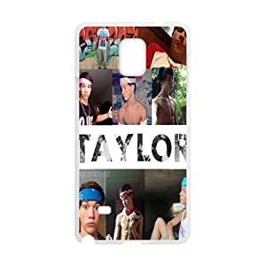 Taylor Design Plastic Case Cover For Samsung Galaxy Note4