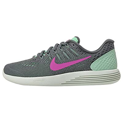 Nike Womens Lunarglide 8 Green Glow/Fire Pink HST CNN Running Shoe 12 Women US