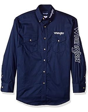 Men's Logo Two Pocket Sleeve Shirt