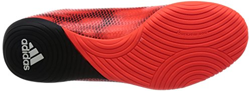 adidas F10 Indoor - Botas de fútbol Niños solar red/ftwr white/core black