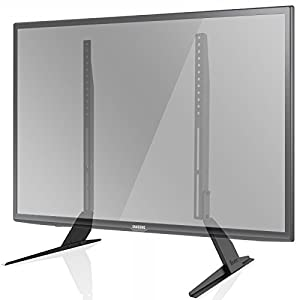 """1home Universal Table Desk Pedestal TV Stand Tabletop Screen Monitor Riser 42""""-65"""" – Feels safe and secure."""
