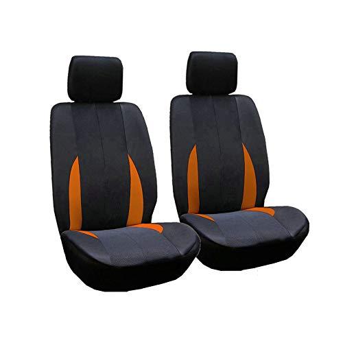 Ocamo 2pcs/Set Car Front Breathable Seat Covers Universal Application 4...