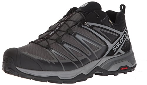 Salomon Men's X Ultra 3 GTX Hiking Shoes, Black/Magnet/Quiet Shade, 12