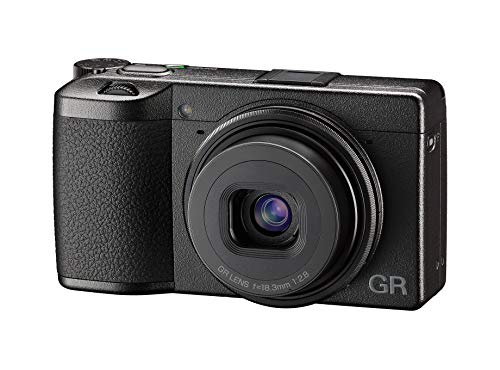 GR III Digital Compact Camera, 24mp, 28mm f 2.8 Lens with Touch Screen LCD from Ricoh