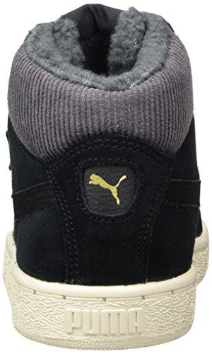 Puma Corduroy Schwarz Erwachsene black Mid 1948 Sneaker Black Unisex Hohe 7Zqvr7
