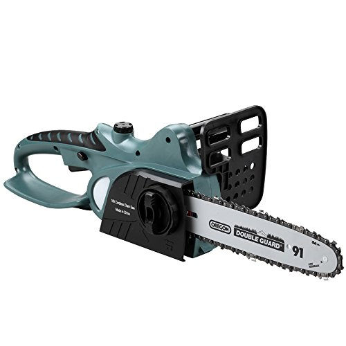 Festnight US Power Tools 18V Li-Ion Battery Cordless Electric Chainsaw 10'Bar and Chain Garden Power Tools