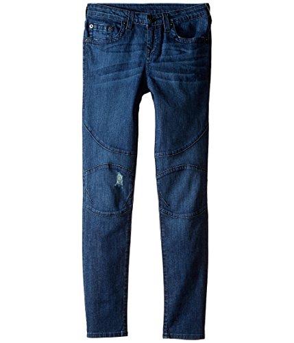 True Religion Kids Boy's Rocco Moto Jeans in Roadster Blue (Big Kids) Roadster Blue Jeans