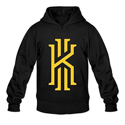 DVPHQ Men's Superior Kyrie KI Basketball Logo Hoodies Size S Black (Minecraft Kids Hoodie)