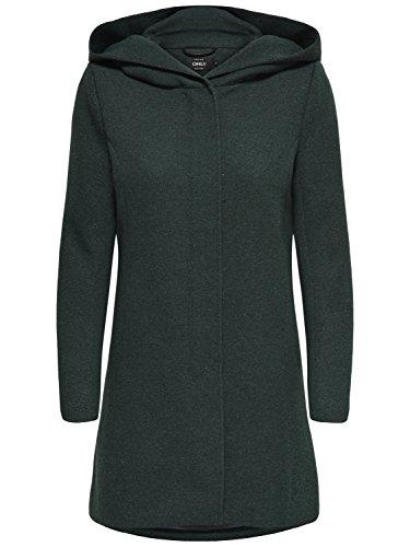 Green Abrigo CC Otw Light Onlsedona Grün Gables para Melange Mujer Coat Only nSFpq4Sw