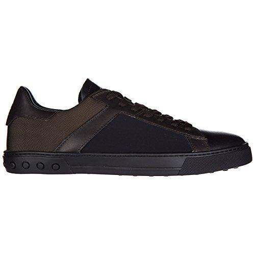 Marron Cassetta Tod's Sneakers en Chaussures Cuir Homme Baskets w00n7UqZ