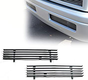 ZMAUTOPARTS For Dodge Ram 2500 3500 Front Main Upper Billet Grille Grill Insert 4Pcs