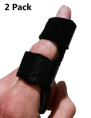 Finger Brace Trigger Finger Splint - Straighten Broken or Bent Fingers & Thumbs. Mallet Finger Splint for Stenosing Tenosynovitis Finger Pain Relief or Locking Finger Tendon. Finger Stabilizer ()