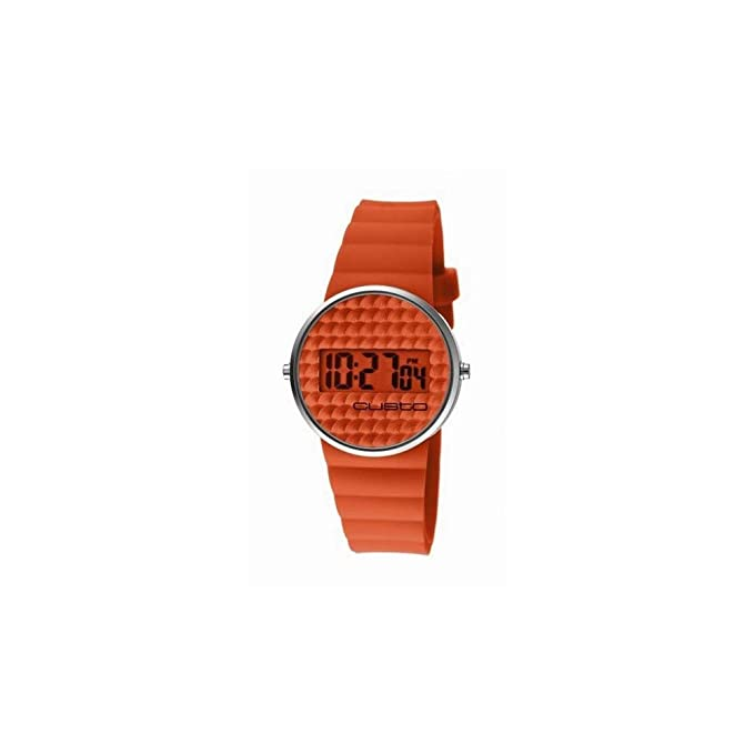 Amazon.com: RELOJ CUSTO DIGITAL CHEWING GUM NARANJ. Womens watches CU046607: Watches