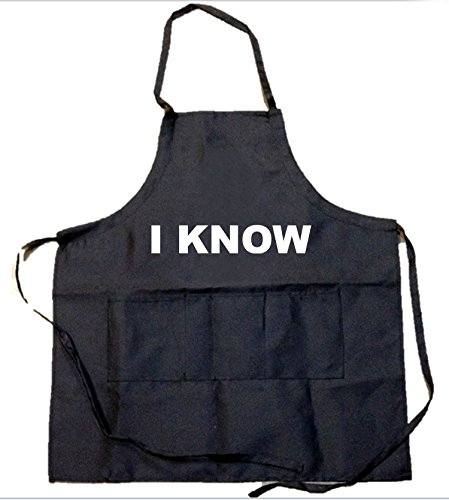 Funny Guy Mugs (Pack of 2) I Love You and I Know Aprons, Black/White by Funny Guy Mugs (Image #2)