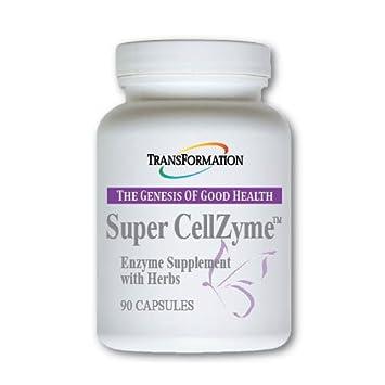 Amazon.com: Transformación enzima – Super cellzyme ™ 90 caps ...