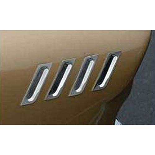 Eckler's Premier Quality Products 40-137209 Chevy Impala Bel Air & Nomad Front Fender Louver Set