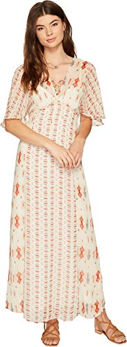 Lucky Brand Women's Vicky Dress Natural Multi Dress by Lucky Brand