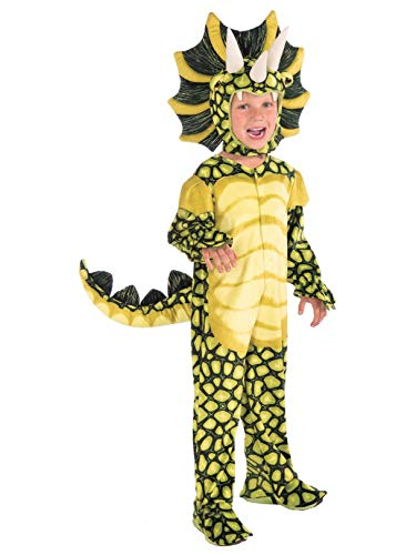 Forum Novelties Kids Plush Triceratops Deluxe Costume, Toddler,