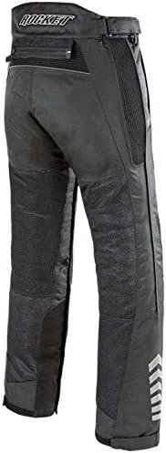 Joe Rocket Phoenix Ion Mens Mesh Motorcycle Pants Black, Medium Short