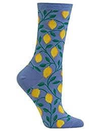 Hot Sox Womens Lemon Vines