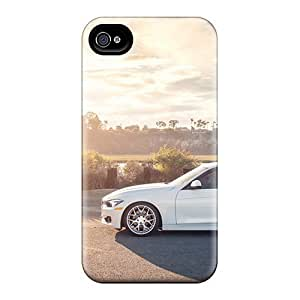 GAwilliam Scratch-free Phone Case For Iphone 4/4s- Retail Packaging - Bmw 3 Sedan
