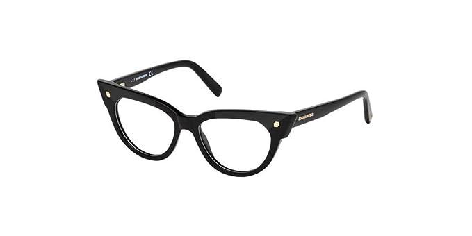 Occhiali da Vista Dsquared2 DQ 5235 SHINY BLACK donna UzOpT4Tk