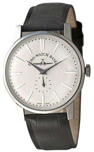 Zeno Vintage Line Manual Winding White Dial Leather Strap Men's Watch 4273-C3 ()