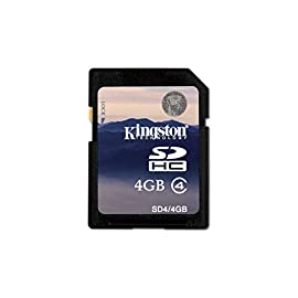 Kingston Class 4 SDHC Flash Memory Card 47 Lifetime; 100% Tested for Reliability Free Technical Support Easy to Follow Installation Instructions