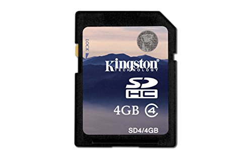 Kingston 16 GB Class 4 SDHC Flash Memory Card SD4/16GB 1 Lifetime; 100% Tested for Reliability Free Technical Support Easy to Follow Installation Instructions
