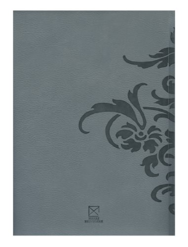 Damask Large Notebook, Padded Cover, Moss (978350) Photo #2