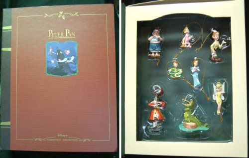 Peter Pan Storybook Ornament Set of ()