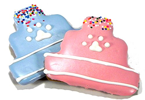 [Pawsitively Gourmet Birthday Cake Cookies for Dogs] (Holiday Dog Cookies)
